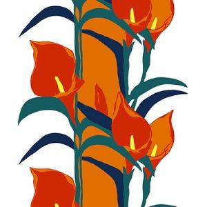 Lelie oranje